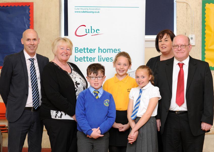 Cube is working with pupils to help youngsters moving schools.