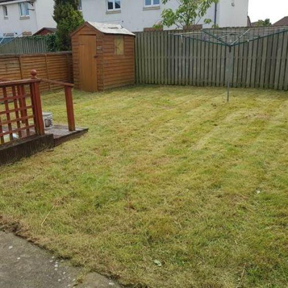 Corkerhill garden after