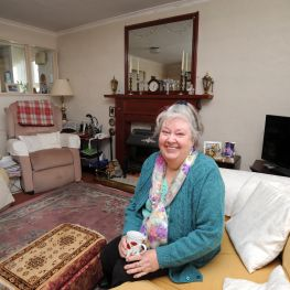 Cube tenant Isabel McPherson is delighted with the improvements to her home.