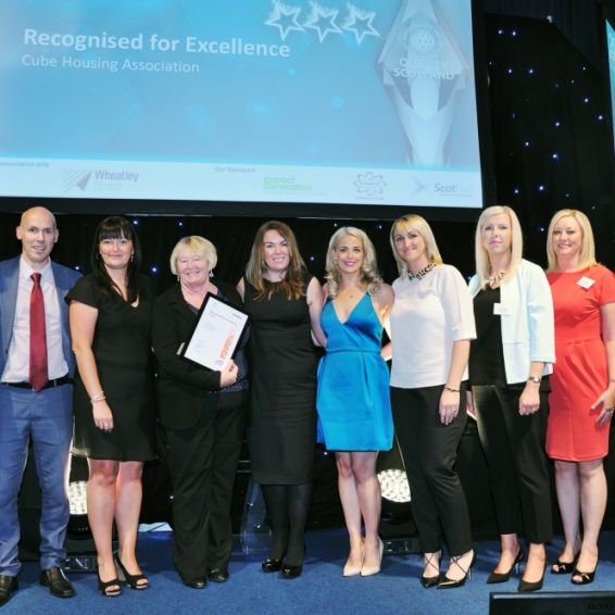Cube picked up a top prize at the Scottish Awards for Business Excellence.