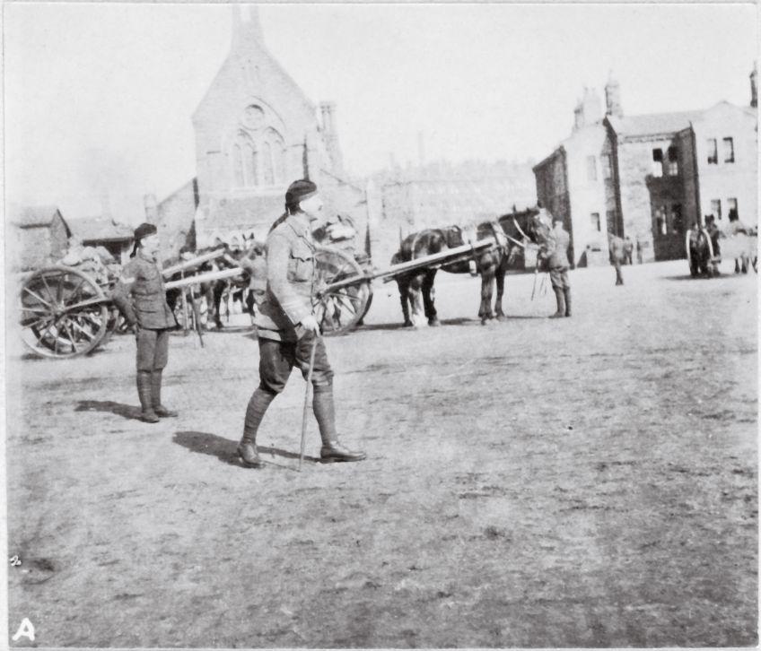 Maryhill barracks canon