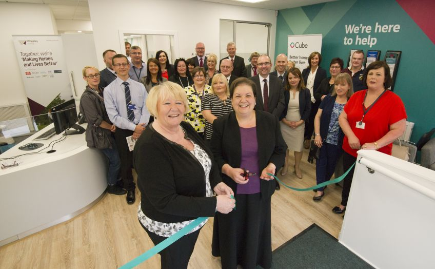 Cube has opened a new office in Dumbarton