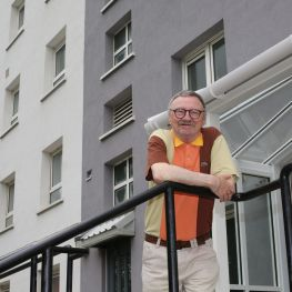 Cube tenant Thomas Keith is delighted with the improvements in his area.