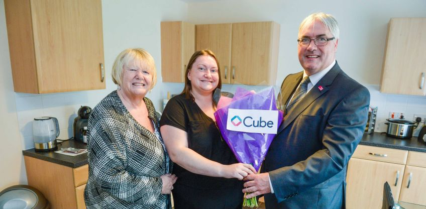 Cube and partners transform Ruchazie community