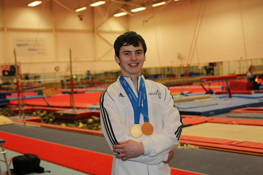 Cube tenant Alistair Kemley won seven medals at the Special Olympics