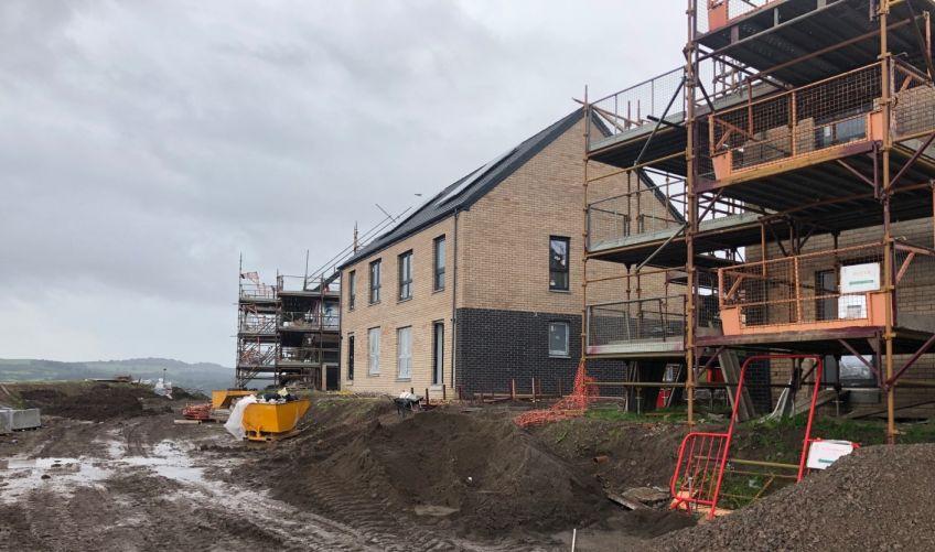 Westcliff and Talisman building work