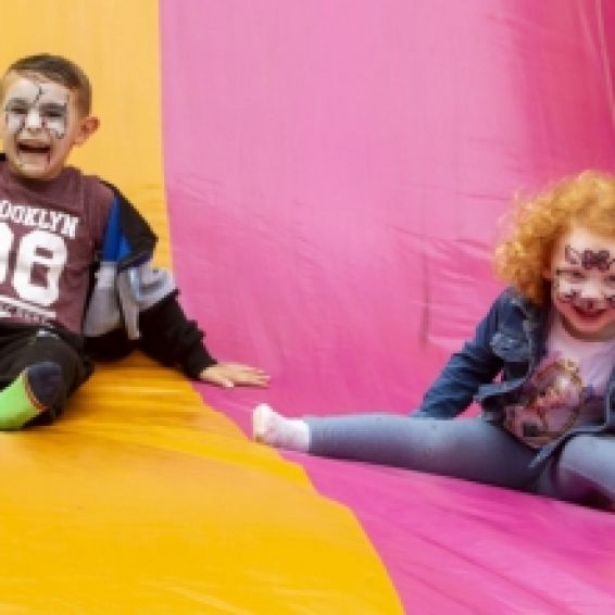 cube held family fun days at Broomhill and Wyndford