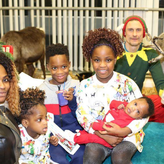 Reindeer stop off at Wyndford