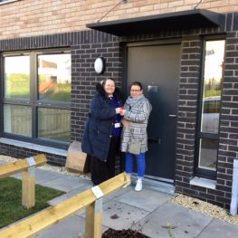 Cube Dumbarton new-build tenant gets keys