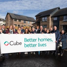 Cube celebrates new homes at Carrick Terrace, Dumbarton